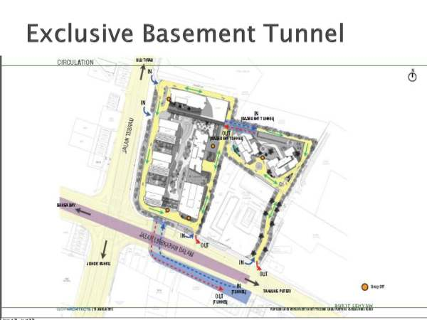 The Astaka Exclusive Basement Tunnel