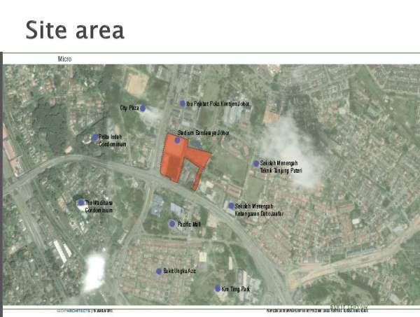 Astaka location satellite map