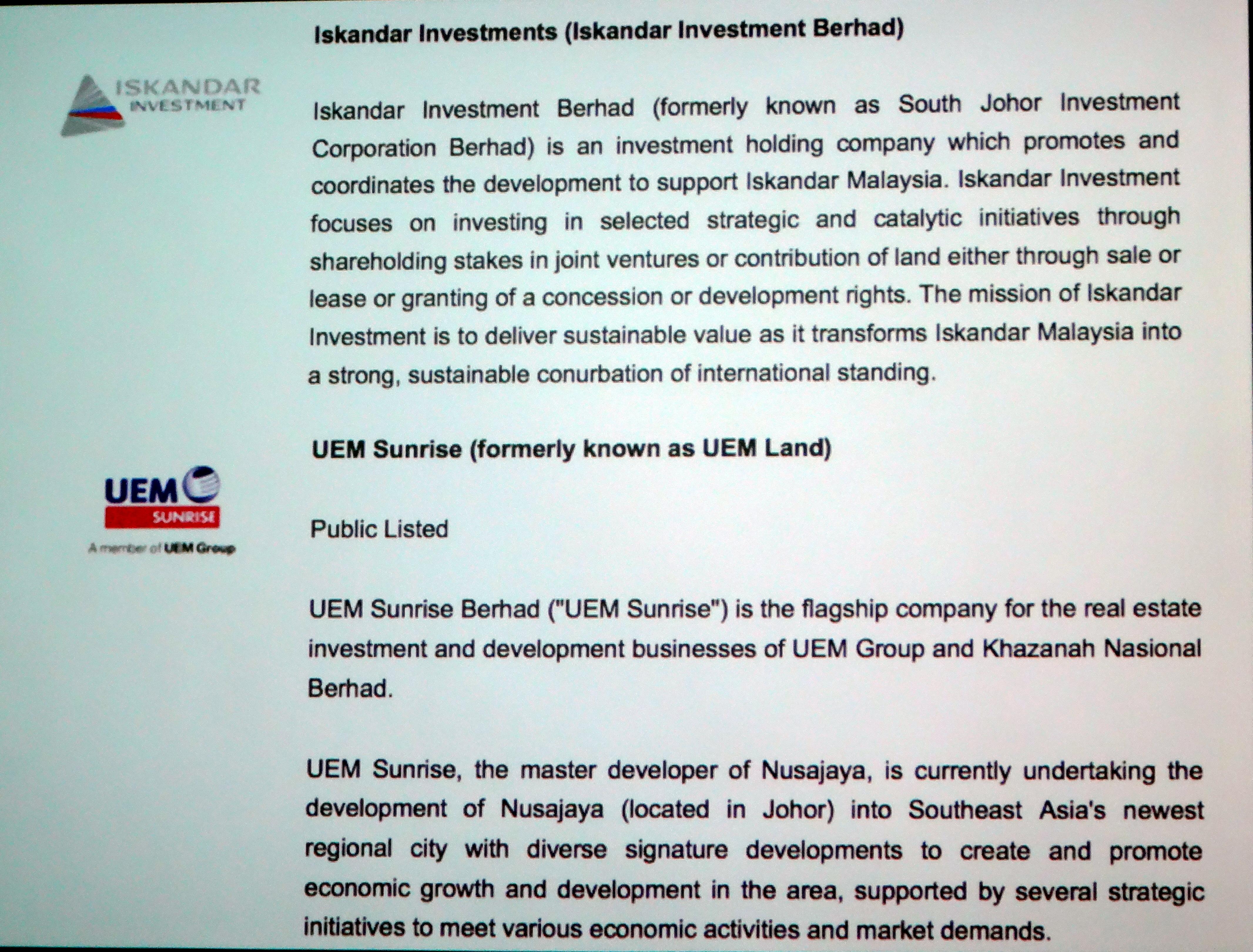 Iskandar Investments (Iskandar InvestmentBerhad)
